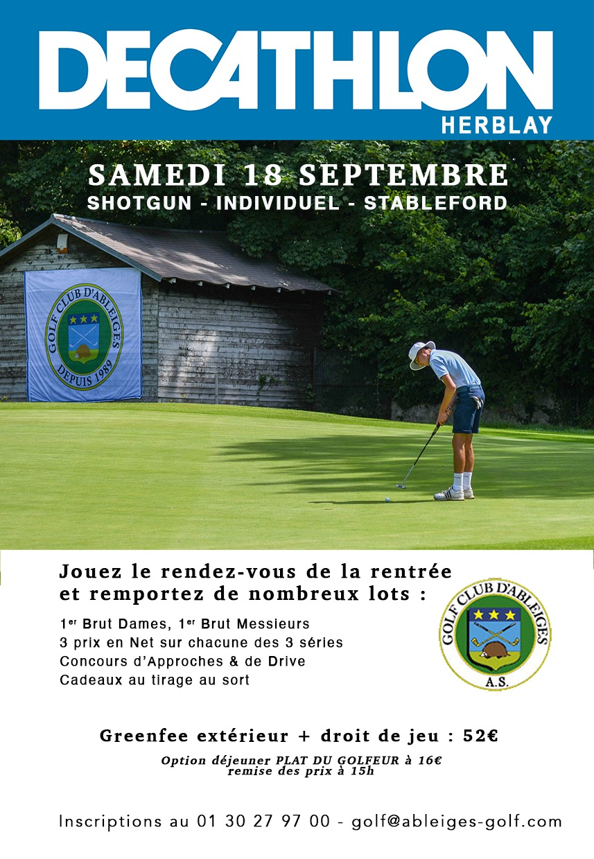 Competition Decathlon 2021  Golf Ableiges